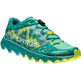La Sportiva Helios 2.0 - Zapatillas running Mujer - amarillo/Turquesa